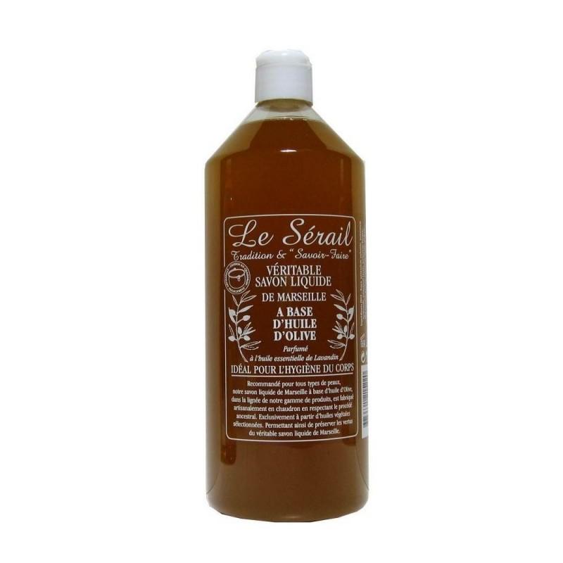 savon de marseille liquide 1 litre à l'huile d'olive