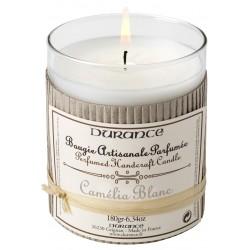 Bougie Durance camélia blanc