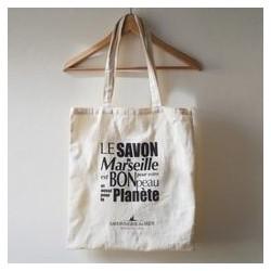 Tote bag savon de Marseille 100% coton