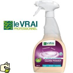 Le vrai Professionnel Clean Power