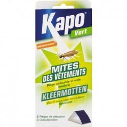 Kapo vert mites des vêtements