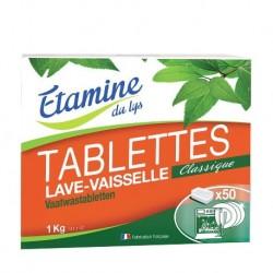 Tablettes Lave-Vaisselle Classique Etamine du Lys